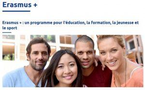 Pour en savoir plus sur le programme Erasmus+